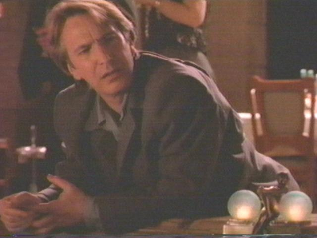 alan rickman young. Alan Rickman in silk quot;jim